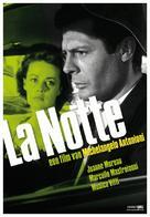La notte - Dutch Movie Poster (xs thumbnail)