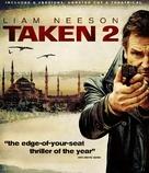 Taken 2 - Blu-Ray movie cover (xs thumbnail)