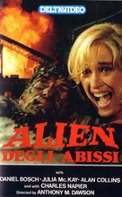 Alien degli abissi - Italian VHS movie cover (xs thumbnail)