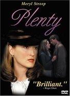 Plenty - DVD cover (xs thumbnail)