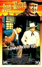 The Comancheros - German VHS cover (xs thumbnail)