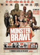 Monster Brawl - French DVD cover (xs thumbnail)