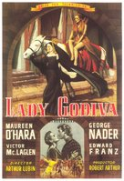 Lady Godiva of Coventry - Spanish Movie Poster (xs thumbnail)
