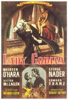 Lady Godiva of Coventry - Spanish Movie Poster (xs thumbnail)