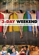 3-Day Weekend - German DVD movie cover (xs thumbnail)