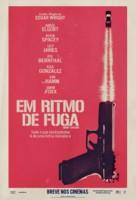 Baby Driver - Brazilian Movie Poster (xs thumbnail)