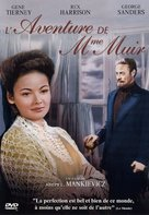 The Ghost and Mrs. Muir - French DVD movie cover (xs thumbnail)