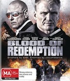 Blood of Redemption - Australian Blu-Ray movie cover (xs thumbnail)
