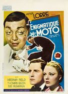 Think Fast, Mr. Moto - Belgian Movie Poster (xs thumbnail)