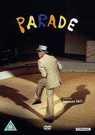 Parade - British DVD movie cover (xs thumbnail)