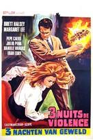 Tre notti violente - Belgian Movie Poster (xs thumbnail)
