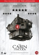 The Cabin in the Woods - Danish DVD movie cover (xs thumbnail)