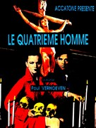 De vierde man - French Movie Poster (xs thumbnail)