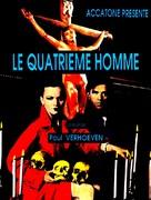 De vierde man - French Movie Poster (xs thumbnail)