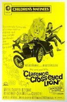Clarence, the Cross-Eyed Lion - Re-release poster (xs thumbnail)