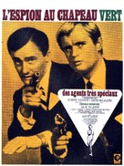 The Spy in the Green Hat - French Movie Poster (xs thumbnail)