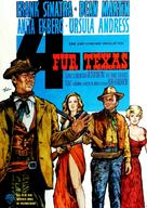 4 for Texas - German Movie Poster (xs thumbnail)