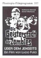 E tu vivrai nel terrore - L'aldilà - German poster (xs thumbnail)