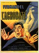 L'acrobate - French Movie Poster (xs thumbnail)