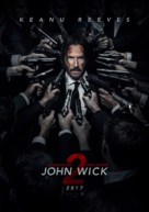 John Wick: Chapter Two - Chilean Movie Poster (xs thumbnail)