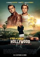 Once Upon a Time in Hollywood - Italian Movie Poster (xs thumbnail)
