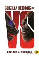 Godzilla vs. Kong - Hungarian Movie Poster (xs thumbnail)