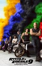 Fast & Furious 9 - Czech Movie Poster (xs thumbnail)
