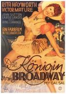 My Gal Sal - German Movie Poster (xs thumbnail)