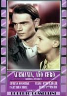 Germania anno zero - Spanish Movie Cover (xs thumbnail)