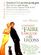 How to Lose a Guy in 10 Days - French Movie Poster (xs thumbnail)