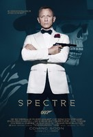 Spectre - Slovak Movie Poster (xs thumbnail)