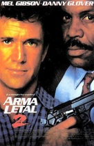 Lethal Weapon 2 - Spanish Movie Poster (xs thumbnail)