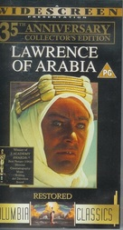 Lawrence of Arabia - British VHS movie cover (xs thumbnail)