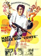 The Wrecking Crew - French Movie Poster (xs thumbnail)