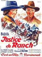 Bar 20 Justice - French Movie Poster (xs thumbnail)