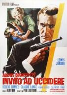 Agente segreto 777 - Invito ad uccidere - Italian Movie Poster (xs thumbnail)