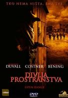 Open Range - Croatian Movie Cover (xs thumbnail)