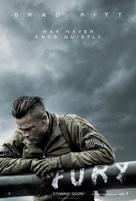 Fury - British Teaser movie poster (xs thumbnail)