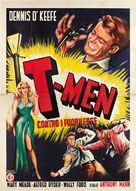 T-Men - Italian Movie Poster (xs thumbnail)