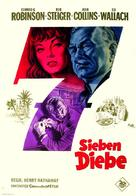 Seven Thieves - German Movie Poster (xs thumbnail)