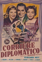 Diplomatic Courier - Italian Movie Poster (xs thumbnail)
