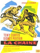 The Defiant Ones - French Movie Poster (xs thumbnail)