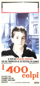 Les quatre cents coups - Italian Movie Poster (xs thumbnail)