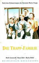 Die Trapp-Familie - German VHS movie cover (xs thumbnail)