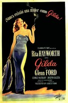Gilda - Argentinian Movie Poster (xs thumbnail)