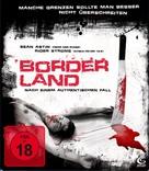 Borderland - German Blu-Ray cover (xs thumbnail)
