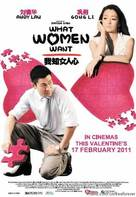 I Know a Woman's Heart - Malaysian Movie Poster (xs thumbnail)