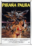 Piranha Part Two: The Spawning - Italian Movie Poster (xs thumbnail)