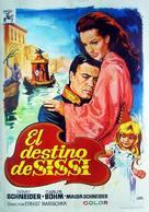 Sissi - Schicksalsjahre einer Kaiserin - Spanish Movie Poster (xs thumbnail)