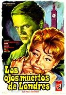 Die toten Augen von London - Spanish Movie Poster (xs thumbnail)